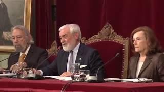 Acto de apertura del Bienio Ramón Menéndez Pidal (2018-2019)