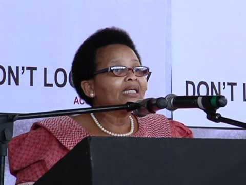 Minister Lulu Xingwana launches the 16 Days of Activism Campaign