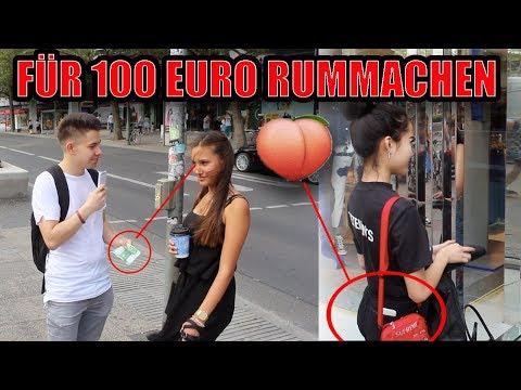 FÜR 100€ EURO MÄDCHEN KÜSSEN 😱💦| SOZIALES EXPERIMENT