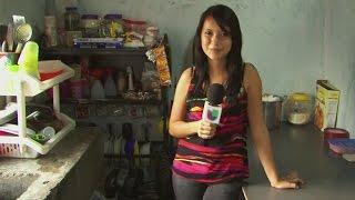 Joven humilde arrasa en las redes sociales en Honduras