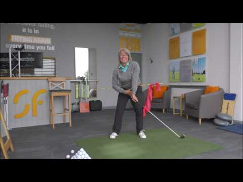 More power & longer golf shots with correct down swing rotation