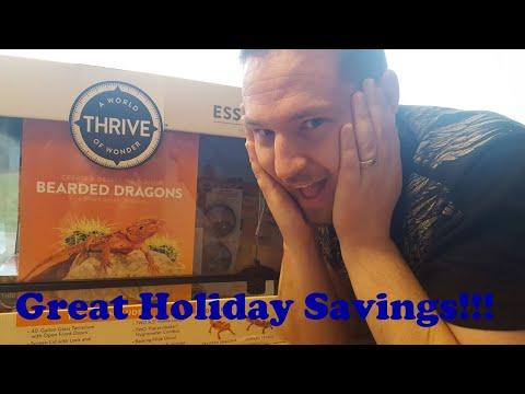 PetSmart BlackFriday Thrive 40 Gallon Desert Unboxing!!!