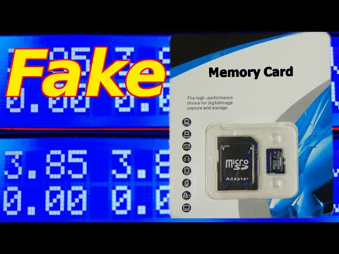 Fake memory card test ebay amazon  256 GB