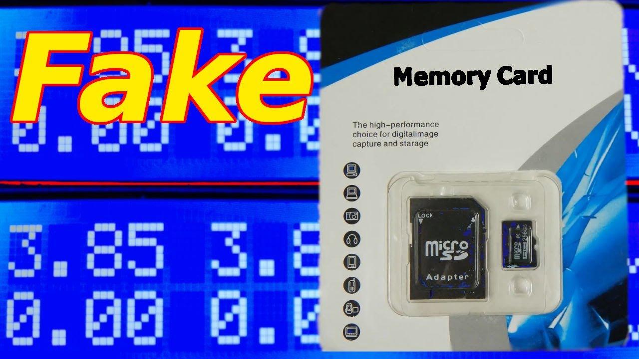 Fake memory card 256 GB