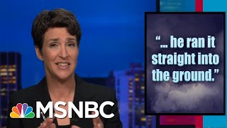 President Donald Trump Postmaster Downgrading Of Political Mail Draws Scorn | Rachel Maddow | MSNBC