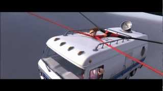 The Incredibles - Return to city brake scene