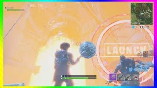 FORTNITE MISSILE LAUNCH AT THE BASE/ NEW Season 5 Leaked Place