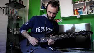 Neal Morse Band - Broken Sky, Long Day(Reprise) - Guitar solo cover