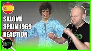 🇪🇸 SPAIN EUROVISION 1969 REACTION: Salomé - Vivo Cantando | ANDY REACTS!