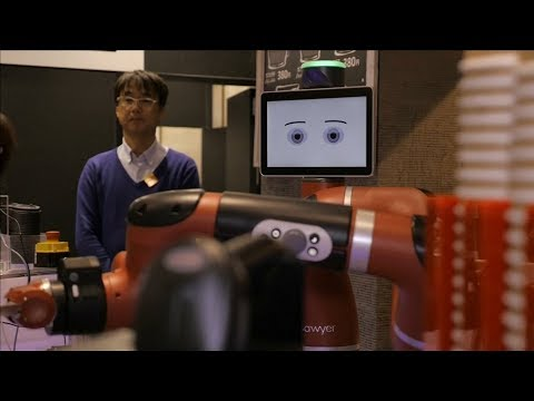 Robot replaces barista in Japan cafe