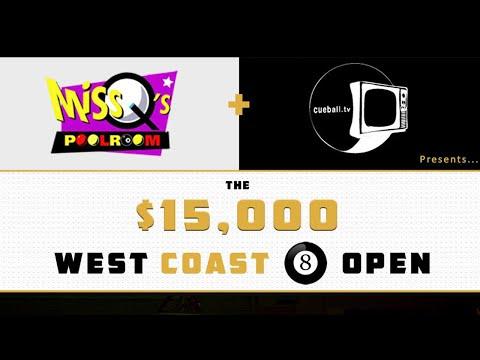Ron Kelly v Luke Foster | FINAL | West Coast Open 8 Ball 2016