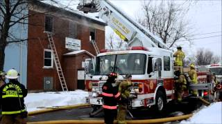 Depew FD Structure Fire - Boys & Girls Club - 60 Preston st