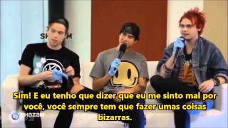 FULL INTERVIEW 5SOS Shazam A Hang Part One! [Legendado PT- BR]