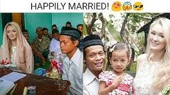 VIRAL LOVE STORY! ??? INDONESIAN MAN MARRIED BEAUTIFUL BRITISH LADY!