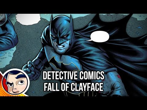 "Batman Detective Comics ""The Fall of Clayface"" – Rebirth Complete Story"