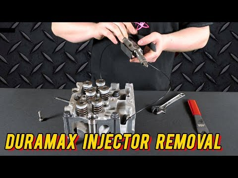 Mechanics Minute: Duramax Injector Removal
