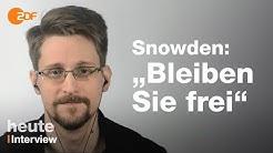 Exklusivinterview: Snowden warnt vor Massenüberwachung