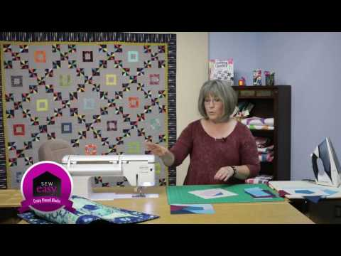 Sew Easy: Crazy Pieced Quilt Blocks Made Simple
