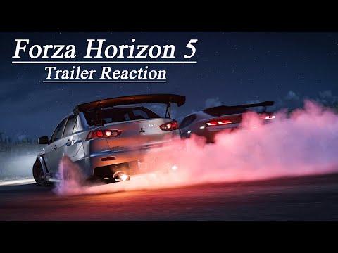 Forza Horizon 5   Trailer Reaction!