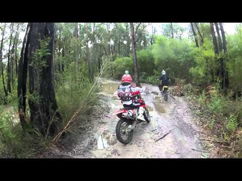 Dirt Bike, Trail Riding Neerim South Victoria Australia Part 2
