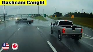 Ultimate North American Car Driving Fails Compilation: The One Where Truck Loses Traction