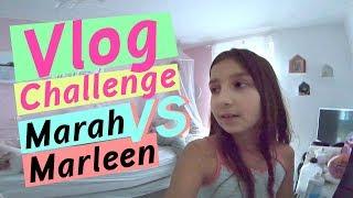 2 Tage Vlog (Marah) / DIY Slime / Marah VS Marleen / kinder_sein / frau_sein