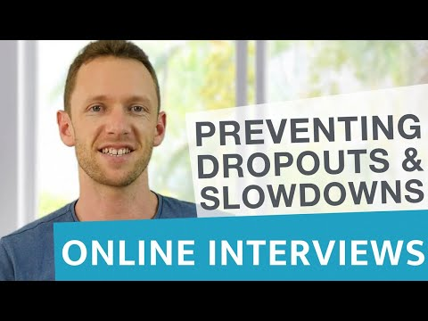 Skype and Hangouts Interviews: Preventing Dropouts and Slowdowns