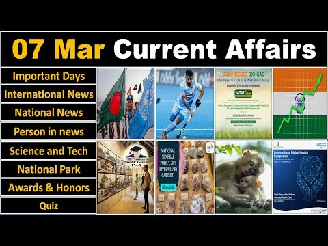 7 March 2019 PIB News, The Hindu, Indian Express - Current Affairs in Hindi, Nano Magazine, VeeR