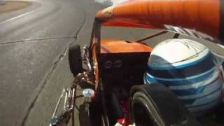 GoPro HD Video:  Ford Focus Midget - Tuscon, Arizona Race - December 2009 - Onboard