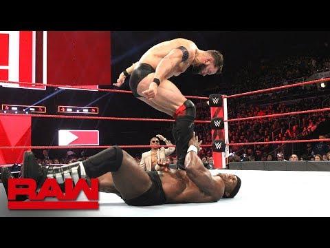 Finn Bálor vs. Bobby Lashley: Raw, Oct. 22, 2018