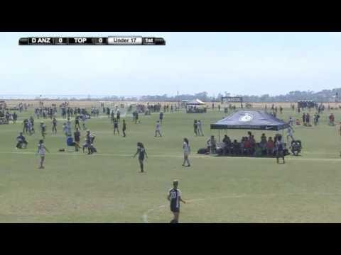 2016 ECNL Playoffs: De Anza Vs. Tophat- U17 - Field 18 - 2pm - June 27
