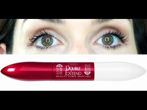 Loreal Double Extend Beauty Tubes Mascara First Impression Review