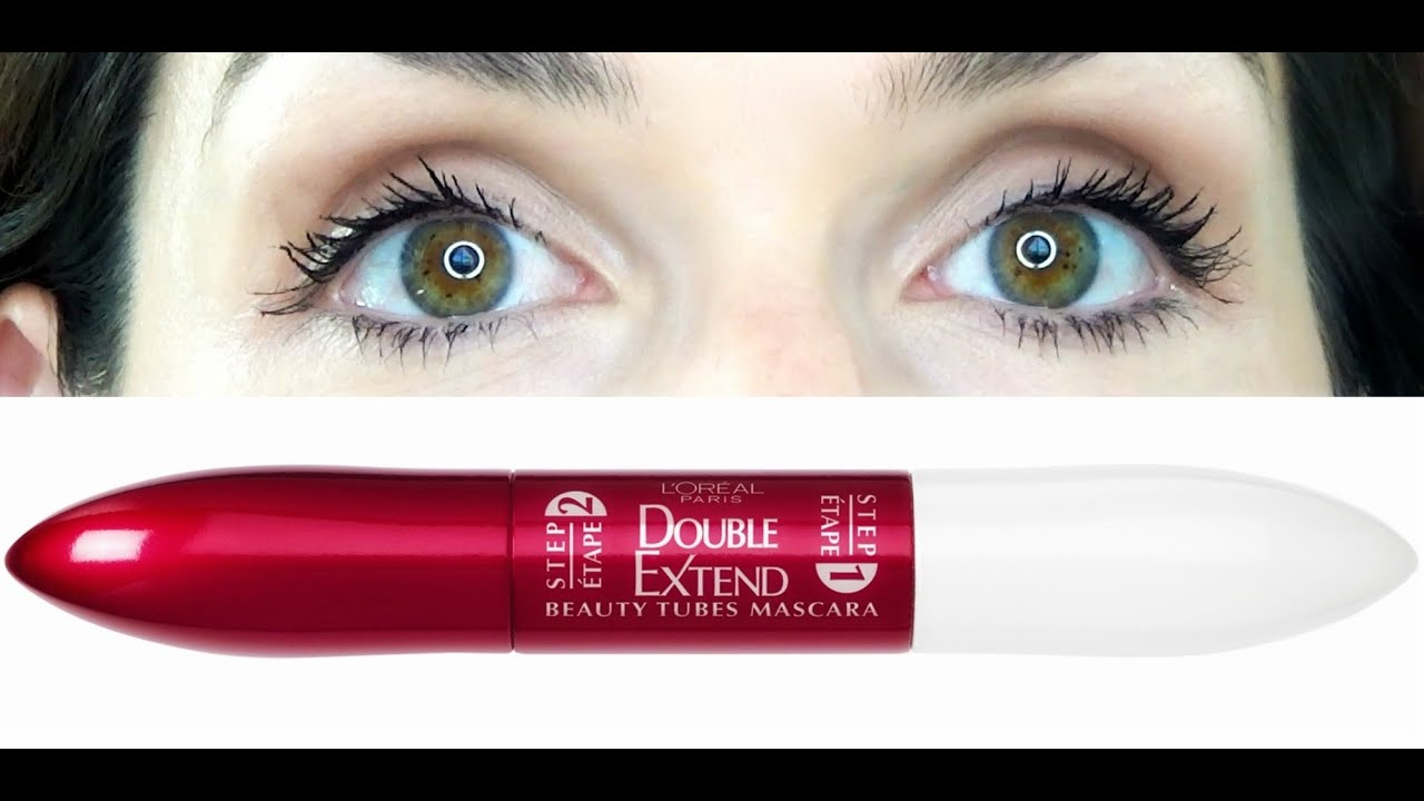 Loreal Double Extend Beauty Tubes Mascara First Impression Review ...