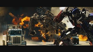 Transformers (2007) - Prime vs Bonecrusher and Final Battle - Only Action streaming