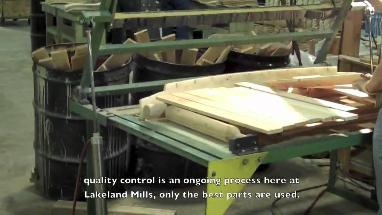 Factory Tour Of Log Furniture Manufacturer Lakeland Mills, Inc   YouTube