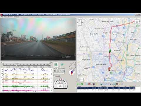 Registrator Viewer - GS98C + CPL + GPS