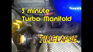 Build a Turbo Manifold in 3min