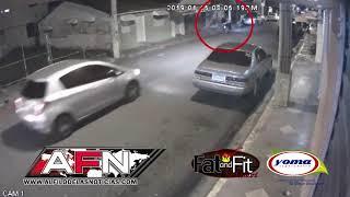Cámara de seguridad capta asalto donde resultó herido un hombre en El Capacito de SFM