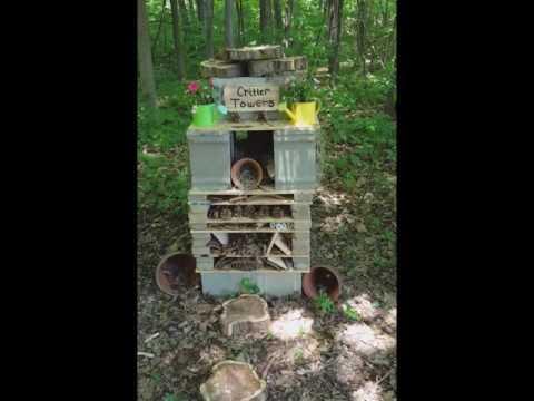Kuehn Haven Middle School Outdoor Classroom, Wildlife Habitat, and Pollinator Garden