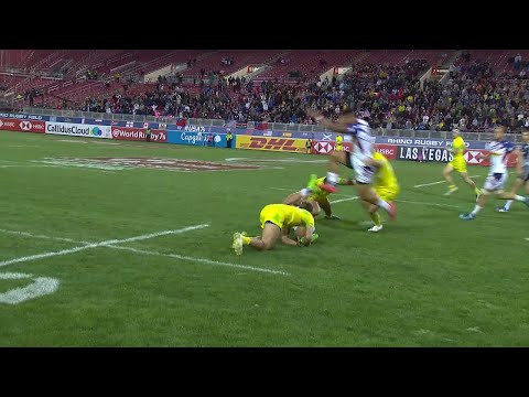 Seven of the best tries from Las Vegas