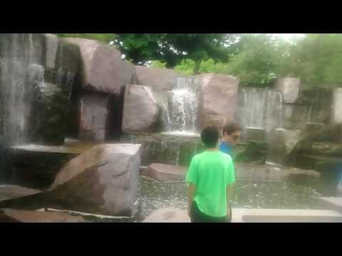 Inside the Franklin Roosevelt Memorial