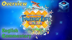 (1/7) Fantasy Life Online ENGLISH Gameplay - Overview