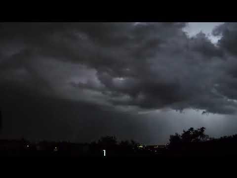 8 heures de pluie et d'un gros orage