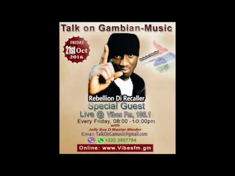 Interviewing Rebellion, The Recaller-Talk On Gambian Music(Radio Show)