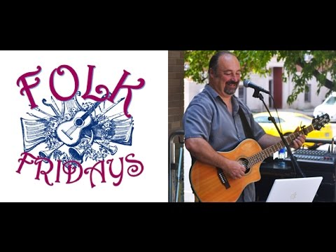 Folk Fridays at Hartford Public Library - Martin Piggot
