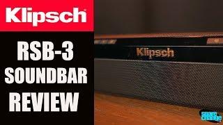 Klipsch RSB-3 Sound Bar REVIEW | Unboxing