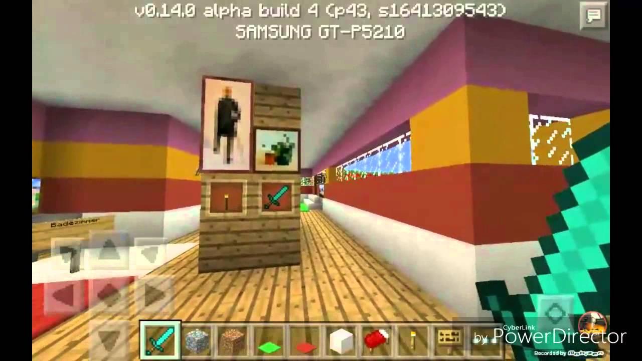 Mein neues Haus Mincraft Romtour - YouTube