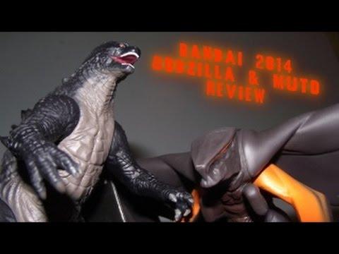 Bandai Godzilla 2014 Muto Figure Review Youtube