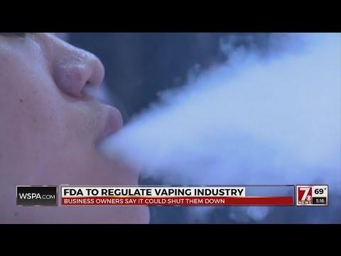 "Vape Shop Says New FDA ""E-Cigarette"" Regulations ""Cripples"" Business"