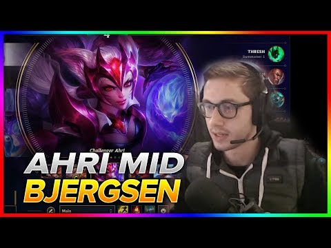 719. Bjergsen - Ahri vs Heimerdinger - S8 Patch 8.19 - NA Challenger  September 29th, 2018